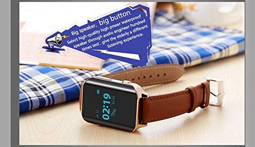 GPS Tracker,Pulsera Inteligente, Pulsera Actividad,GPS Reloj Teléfono, SOS Smart Watch Reloj Infantil Reloj GPS localizador led pantalla Smartwatch ...