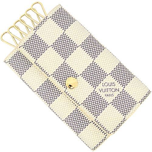 [ルイヴィトン] ミュルティクレ6 ダミエ アズール ダミエキャンバス × レザー N61745 アズール (ホワイト) × ゴールド金具 メンズ レディース [並行輸入品] B07NJ39LPR