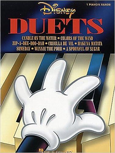 Disney Duets Piano 4 Hands Hal Leonard Corp 8601422657586 Amazon