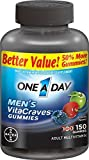 (2 Pack)-One A Day, Men's VitaCraves Gummies, 150 count each. For Sale