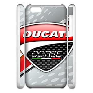 iPhone 5c 3D Cell Phone Case Ducati Corse Logo Custom Case Cover 3ERT471856