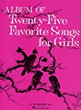 Album of 25 Favorite Songs for Girls, , 0793557097