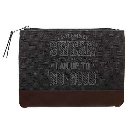 Harry Potter Pencil Case Harry Potter School Supplies - Harry Potter Accessories I Solemnly Swear That I Am Up To No Good Marauders Map Pencil Case - Harry Potter Office Supplies by Bioworld