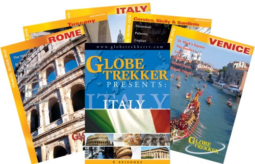(Globe Trekker: Ultimate Italy Box Set (5 pack))