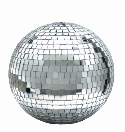 Hanging Disco Ball (Eliminator Lighting Mirror Balls 12 inch mirror ball Mirror)