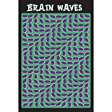 (24x36) Brain Waves (Optical Illusion) Art Poster Print