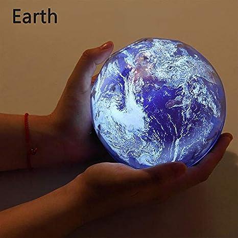 Luz De La Noche Cielo Estrellado Planeta Magia Hogar Planetario ...