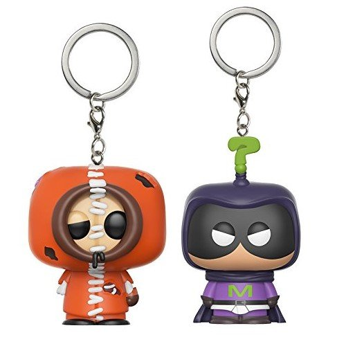 Pocket Pop! Keychain: Southpark Bundle - Zombie Kenny and Mysterion