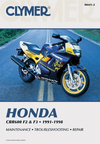 Honda CBR F2 and F3 1991-1998 by Penton Staff - 1997 1994 Cbr