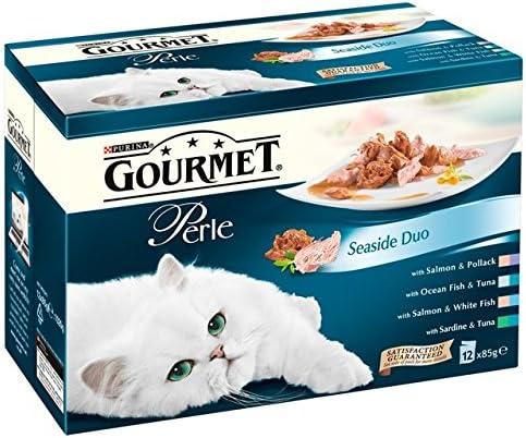 Nestle Purina Petcare UK Ltd Gourmet Perle Pouch Seaside Duos 12x85g