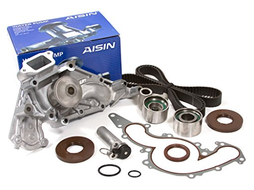 Evergreen TBK190HWPA Fits 90-97 4.0L Lexus LS400 SC400 1UZFE Timing Belt Tensioner Kit AISIN Water Pump