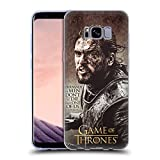 Official HBO Game Of Thrones Jon Snow Character Quotes Soft Gel Case for Samsung Galaxy S8+ / S8 Plus
