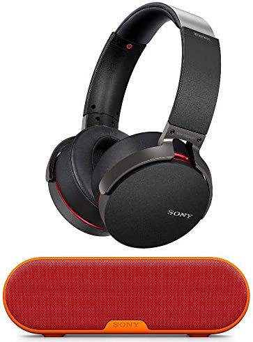 Sony XB950B1 Extra Bass Wireless Headphones Black SRS-XB2 Portable Wireless Bluetooth Speaker Red