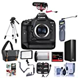 Canon EOS-1DX Mark II Digital SLR Camera - Bundle with 128GB...