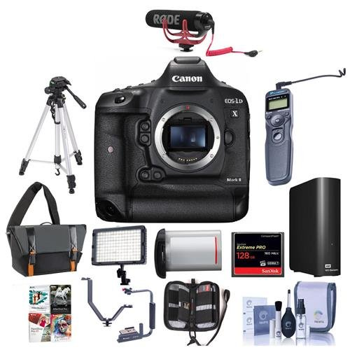 51 GKVzwhoL - Canon EOS-1DX Mark II DSLR Camera (Body Only)