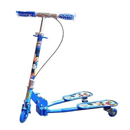 Defect Patinete para niños Plegable Triciclo Deportes al ...