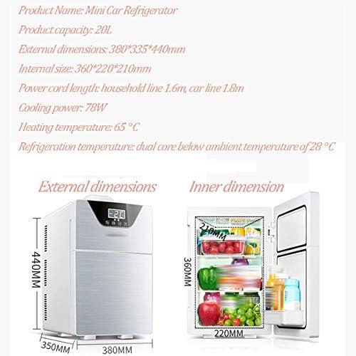 ADEMI compresor Nevera Coche, Portátil Mini 20L Capacidad del ...