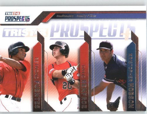 Reymond Fuentes / David Renfroe / Kristopher Hobson - Draftmates / Family Affair - 2009 TRISTAR Prospects Plus Baseball Card # 99 / MLB Trading Card