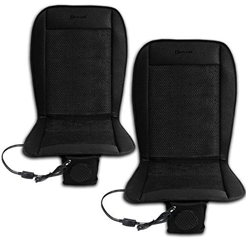 Zento Deals 2 Packs 12V Automotive Adjustable Cooling Car Cushion