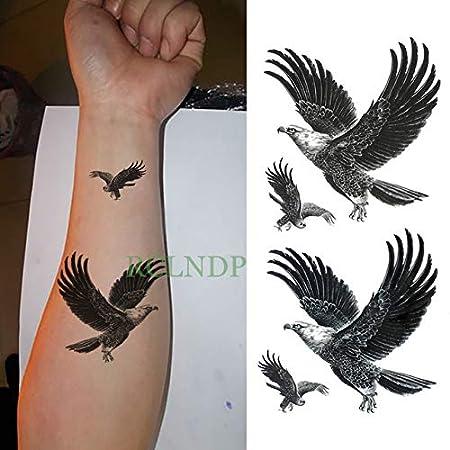 ljmljm 5pcs Impermeable Tatuaje del Cuerpo Etiqueta en Robot de ...