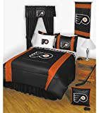 NHL Philadelphia Flyers 5pc Bed in a Bag Queen Bedding Set