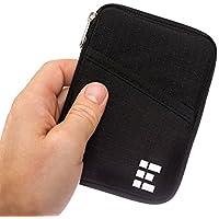 Zero Grid Passport Wallet Travel Document Holder w/RFID Blocking