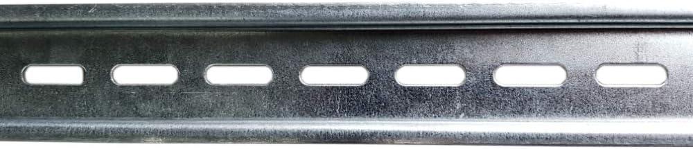 85cm Tragschiene Hutschiene DIN-Schiene TH35 gelocht perforiert verzinkt Doktorvolt 1059