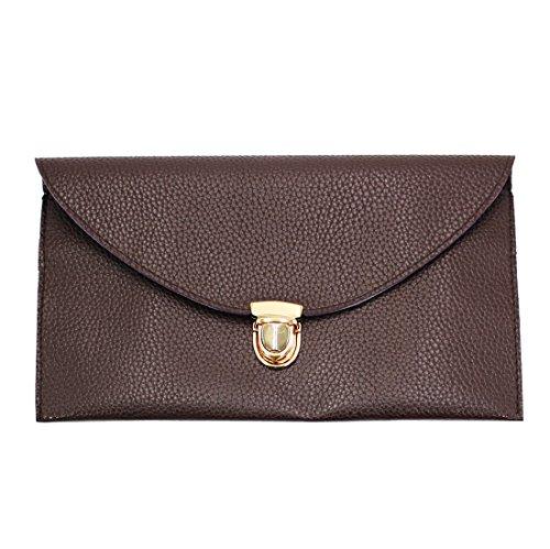 Evening Chain Gaorui Multicolors Handbag Women Coffee lady Shoulder Tote Bag Purse Envelope Clutch T6YX6qH