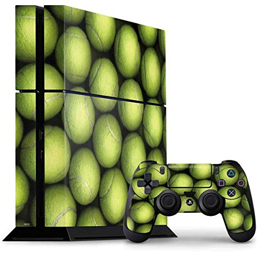Sports PS4 Console and Controller Bundle Skin - Tennis Ball Collage | Photography X Skinit Skin