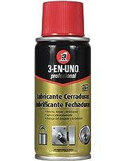 3 EN UNO Profesional 3-EN-UNO Profesional Lubricante de Cerraduras 100ml. Funciona mejor que el grafito ¡Compruébalo!