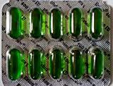 50 Evion Capsules Vitamin E for Glowing Face, Strong Hair, Acne, Nails, Glowing Skin 400mg