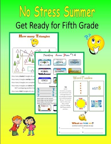 No Stress Summer:  Get Ready for Fifth Grade