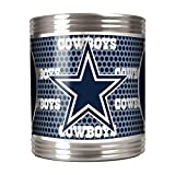 Great American Products NFL Dallas Cowboys Metallic Can Holder, Stainless Steel