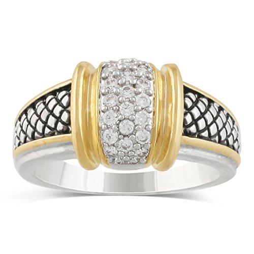 JanKuo Jewelry Two Tone Bali A