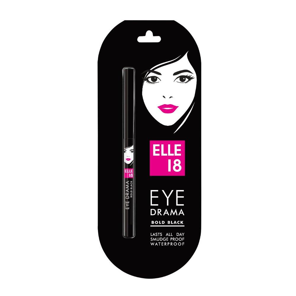 Elle 18 Eye Drama Kajal, Bold Black, 0.35g product image