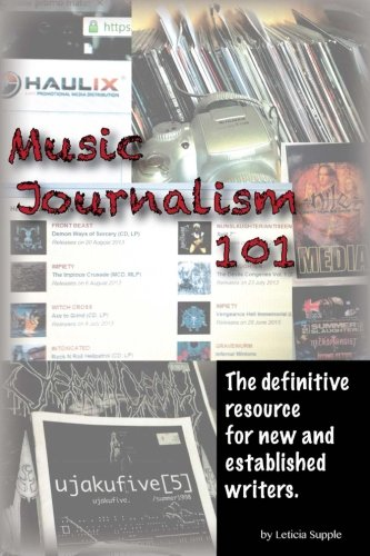 Music Journalism 101 definitive established product image