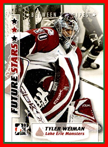 2007-08 Between The Pipes #59 Tyler Weiman LAKE ERIE MONSTERS