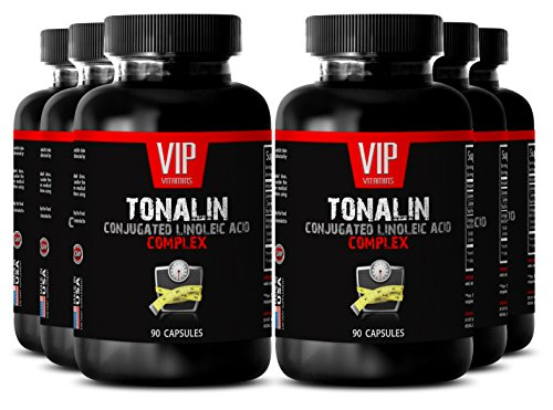 Conjugated linoleic acid for Weight Management - TONALIN Conjugated Linoleic Acid Complex - Increase endurance and energy - 6 bottles 270 Capsules by VIP VITAMINS