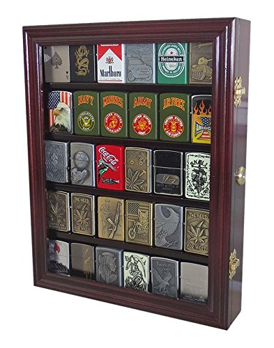 Lockable Cigarette Lighters Display Cabinet product image