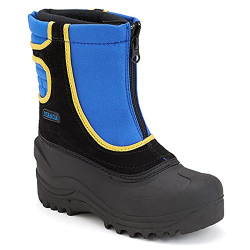 Itasca Boy's Snow Stomper II Royal Blue Black Warm Lined Winter Boots (3 M (Youth), Royal/Black) ()
