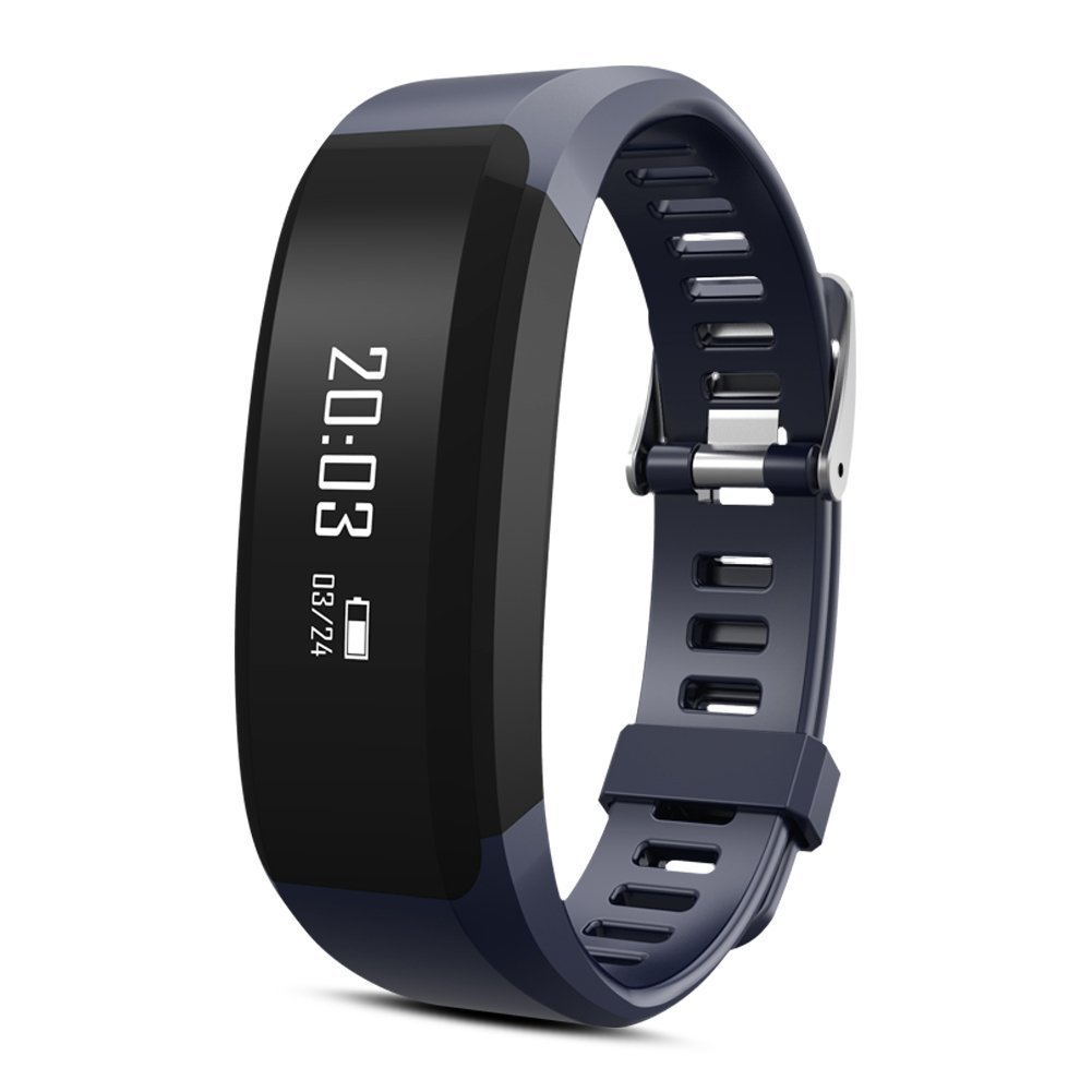 Pulsera de fitness, huiheng H28 Bluetooth 4.0 Smart pulsera inteligente banda corazón monitor de fitness Tracker para Android IOS Smartphone
