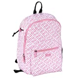 SCOUT Big Draw Backpack School Bag, Interior Laptop Sleeve, Padded & Adjustable Straps, Water Resistant, Zips Closed, Rose Water