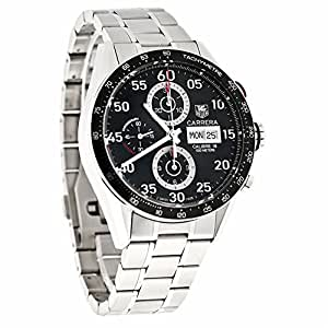 Tag Heuer Carrera Calibre16 automatic-self-wind mens Watch CV2A10.BA0796 (Certified Pre-owned)