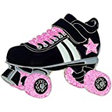 Pink Roller Skates Roller Rink Derby Nostalgia 80s Kids Enamel Pin Lapel