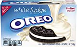 Oreo White Fudge Covered Chocolate Sandwich Cookies, 8.5 Ounce
