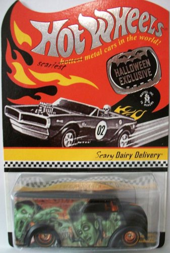 Hot Wheels HWC Halloween Exclusive Scary Dairy Delivery Limited Edition Redline Club 1:64 Scale Collectible -