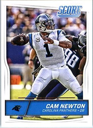 36b860668 Amazon.com: 2016 Score #43 Cam Newton Carolina Panthers Football Card-MINT:  Collectibles & Fine Art