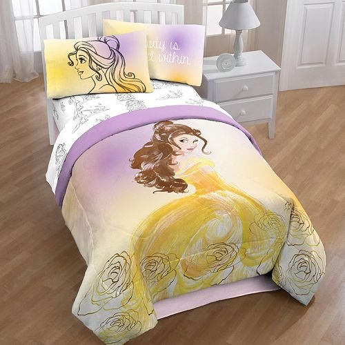 Price comparison product image Beauty and the Beast Twin/Full Comforter