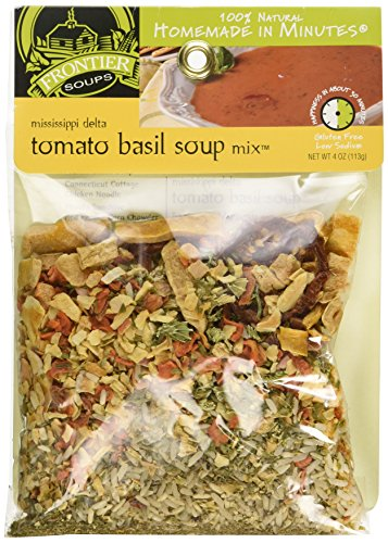 Frontier Soups Homemade In Minutes Mississippi Delta Tomato Basil Soup Mix -- 4 oz