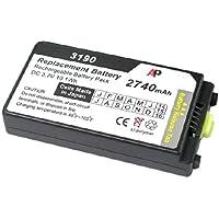 Motorola / Symbol MC3100 & MC3190 Scanners: Replacement Battery. 2740 mAh